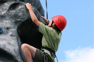 Organiser escalade avec des enfants ou adolescents