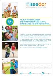 Jeux activités pour olympiades