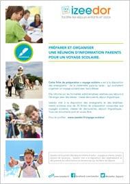 Réunion information voyage scolaire