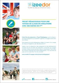Voyage scolaire Angleterre