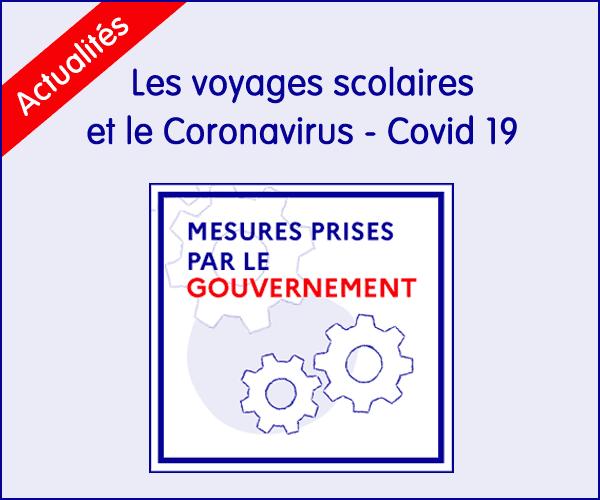 Voyages scolaires et coronavirus